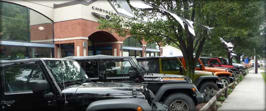 Jeep Dealers Fairfield County CT