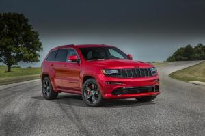 Jeep Grand Cherokee SRT Red Vapor Stamford