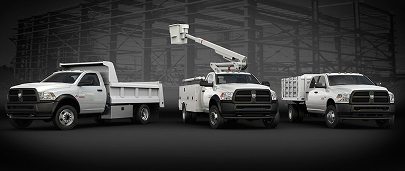 2017 Ram Chassis Cab Lineup