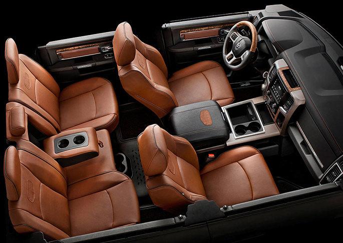 2017 RAM 1500 interior nj