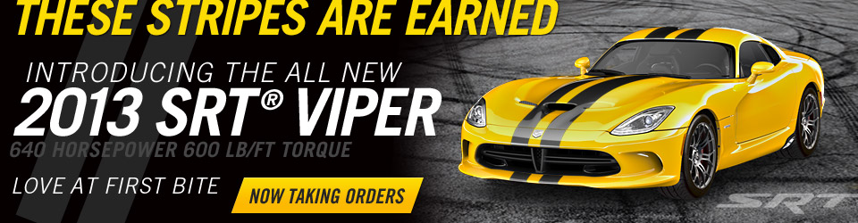 All New 2013 SRT Viper GTS preorder CT