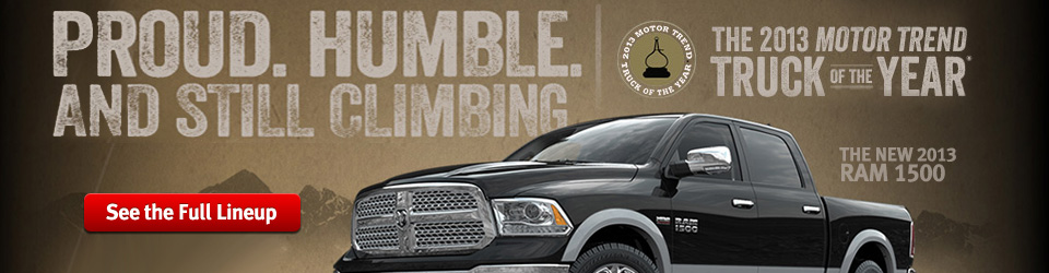 2013 RAM 1500 MotorTrend Truck of the Year
