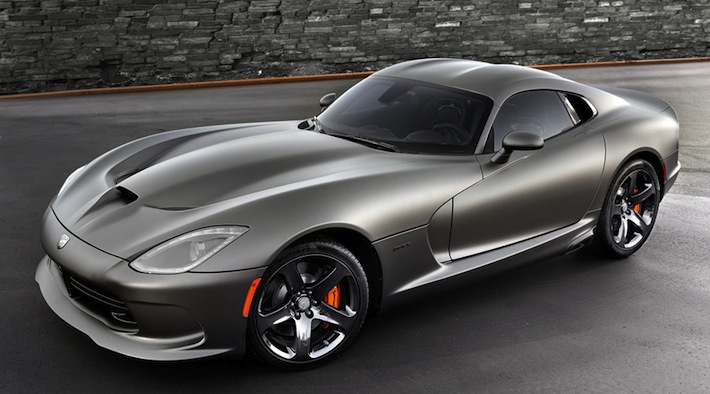 2014 SRT Viper GTS Anodized Carbon Special Edition Package CT