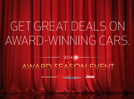 2014 Award Season Event offers Great Deals on Award Winning Cars at Jeep Chrsyler Dodge City - CT