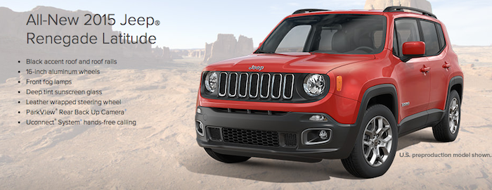 2015 Jeep Renegade Fairfield County CT