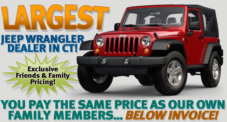 jeep wrangler friends and family pricing ct