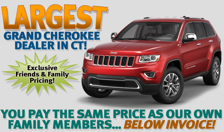 Jeep Grand Cherokee Friends And Family Pricing Greenwich CT - Grand cherokee invoice price