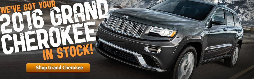 We Have Your 2016 Grand Cherokee In Stock
