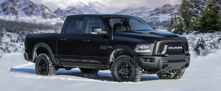 2017 Ram 1500 Rebel Black CT