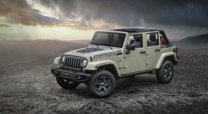 2017 Jeep Wrangler Unlimited Rubicon Recon CT