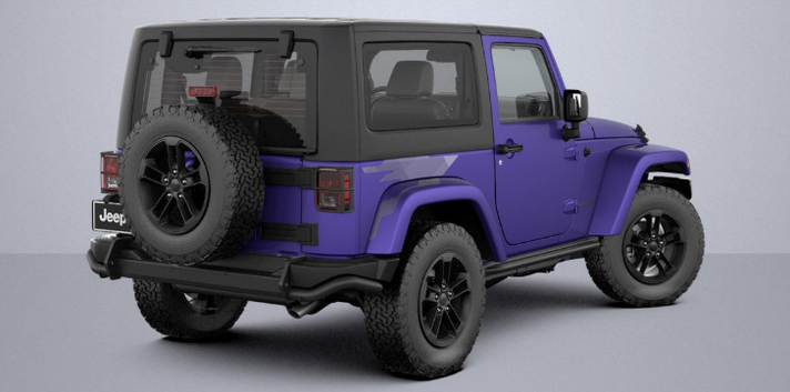 introducing the 2 new 2017 jeep wrangler special editions. Black Bedroom Furniture Sets. Home Design Ideas