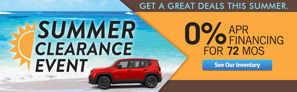 2017 Summer Clearance Event