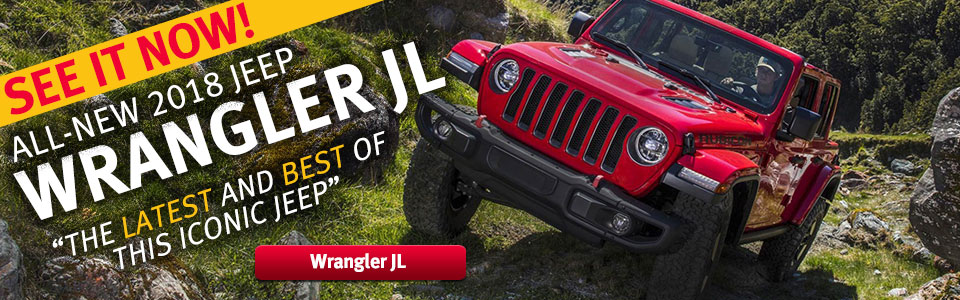 See it Now! All-New 2018 Jeep Wrangler JL