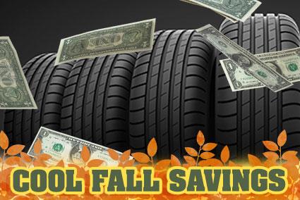 Fabulous Fall Tire Offer!