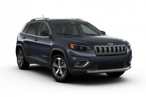 All New 2020 Jeep Cherokee Limited 4x4