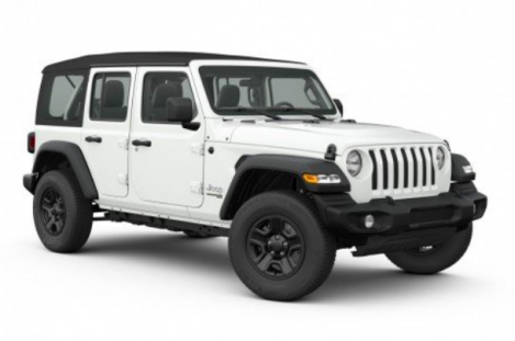 All New 2020 Jeep Wrangler Unlimited Sport 4x4