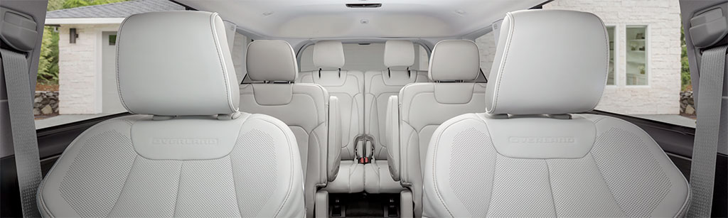 Grand Cherokee L 3-row seating